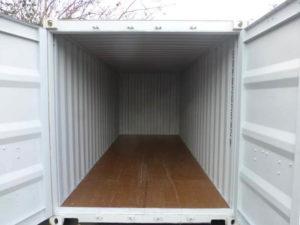 Intérieur d'un box de stockage à louer