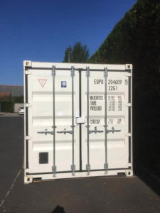 Extérieur container